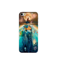 The Little Mermaid Ariel Phone Back Case Plastic Shell Hard Cover for Apple iPhone 4 4s 5 5s SE 5c 6 6s 6 Plus 6s Plus