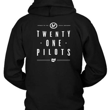 DCCKG72 Twenty One Pilots Power To Local Dreamer Oh Hoodie Two Sided