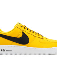 "Air Force 1 '07 Lv8 ""nba Pack"" - Nike - 823511 701 - amarillo/black-white 