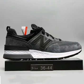 New Balance Fashion Casual All Match N Words Breathable Couple Sneakers Shoes Blue&navy&red G A0 Hxydxpf