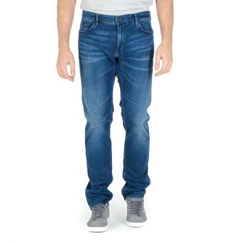 Hugo Boss Mens Jeans Blue DELAWARE