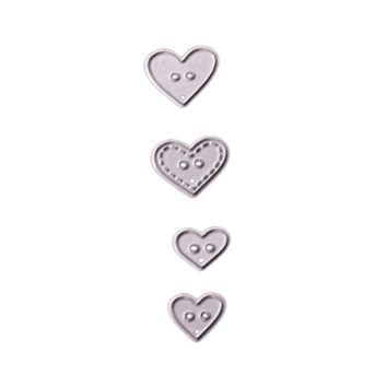 Metal Steel heart Cutting Dies Stencil For DIY Scrapbooking Album Paper Card Photo Decorative Craft DIE CUT