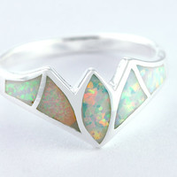Opal Ring,Geode ring,gemstone ring,Agate ring,Gemstone Ring,Opal,Jewelry,Silver,Opal,Trending,Gift idea,Birthstone ring,October birthstone