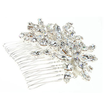 Crystal Hair Comb, Bridal Hair Comb, Hair Comb, Bridal Hair Accessory