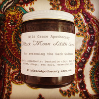 Black Moon Lilith Salt Scrub