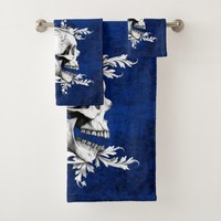 Skull Cameo 1 Bath Towel Set