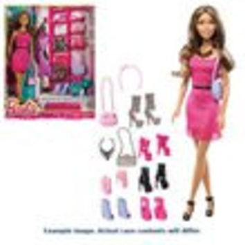 Barbie Doll And Accessories Case