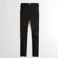 Girls Stretch High-Rise Super Skinny Jeans | Girls New Arrivals | HollisterCo.com
