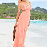 Ruffle Push-Up Maxi Dress - Victoria's Secret