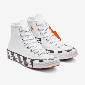 "Converse ""Orange Bottoms"" Chuck 70 Hi by OFF-WHITE"
