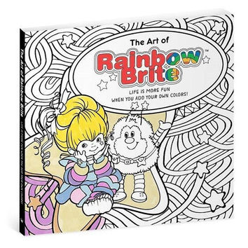 Hallmark The Art of Rainbow Brite Coloring Book