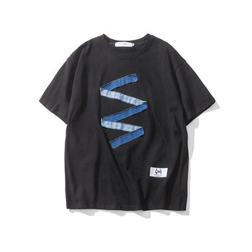 Men's Fashion Summer Strong Character Casual T-shirts [9790792643]