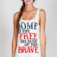 ***NEW*** Home Of The Free Tank