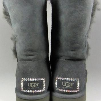 UGG Boots With Luxe Swarovski Crystal Elegant Accents - Winter/Holiday 2013