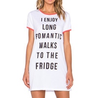 MINKPINK Romantic Walks Tee Dress in Multi