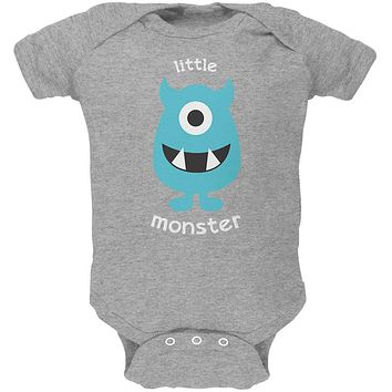 Halloween Little Monster Soft Baby One Piece