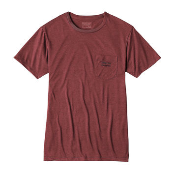 Patagonia Men's '73 Logo Recycled Poly Pocket Responsibili-Tee