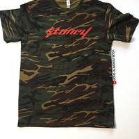 Post Malone Stoney Camouflage Tee Shirt