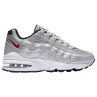 Nike Air Max 95 - Boys' Grade School - Casual Running Sneakers - Nike - Running - Boys' Grade School - Casual - Shoes - Silver/Silver | Silver Pack | Kids Foot Locker