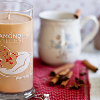 Gingerbread Latte Ring Candle