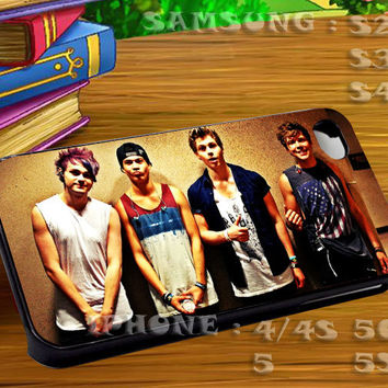 5 Seconds of Summer Styles - For iphone 4 iphone 5 samsung galaxy s4 / s3 / s2 Case Or Cover Phone.