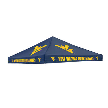 West Virginia Mountaineers NCAA 9' x 9' Solid Color Tailgate Tent Canopy Top