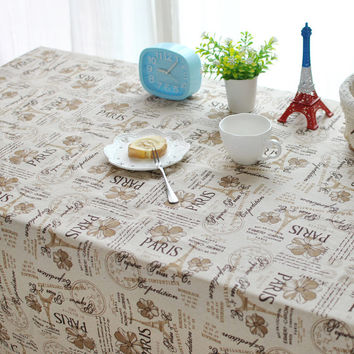 Home Decor Tablecloths [6283625414]
