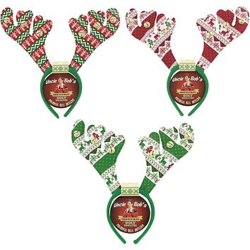 Xmas Ugly Sweater Colorful Bell Antlers - 48 Units