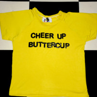 SWEET LORD O'MIGHTY! CHEER UP BUTTERCUP CROP TEE