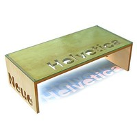 Personalised Birch Plywood Coffee Table