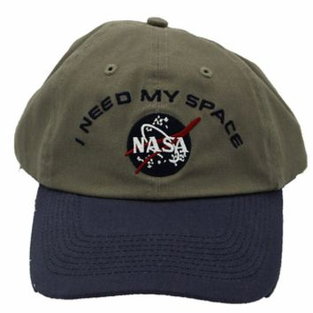 "Mens Hats - ""I NEED MY SPACE"" NASA Meatball Hat: The Space Shop"
