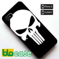 Punisher Skull Iphone 5 Rubber Case