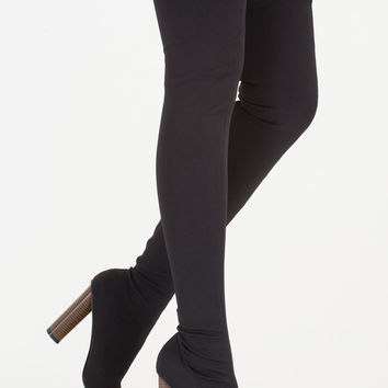 High Hopes Chunky Thigh-High Boots