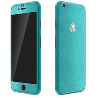 iPhone 6 | Blue Glitter Series Skins, Wraps & Decals // SlickWraps
