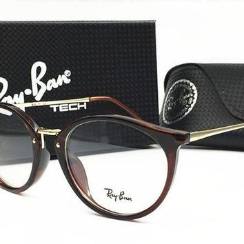 Ray Ban Fashion Unisex Casual Summer Sun Shades Eyeglasses Glasses Sunglasses Coffee I-MYJ-YF