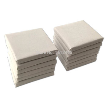 10pcs Mini Stretched Artists Canvas Small Art Board Acrylic/Oil Paint 4*4 Inch(10x10cm)