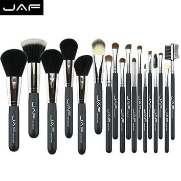 Professional Natural Hair 1Set/lot 20pcs Makeup Brushes Set Cosmetic Real Make Up Tools Eye Shadow Blush Set   #88357