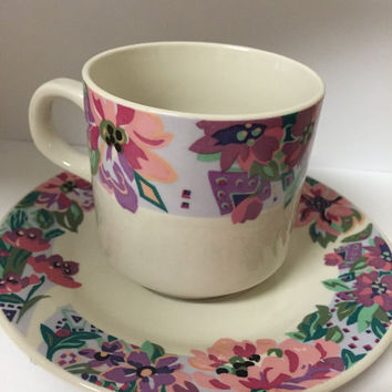 Vintage Tea Cup and Plate