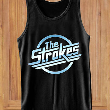 The Strokes LOGO design clothing lives for Tank Top Mens and Tank Top Girls