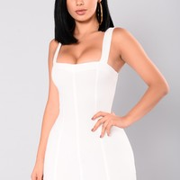 Brielle Mini Dress - Ivory