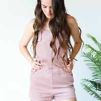 Just Because Corduroy Romper - Luca + Grae