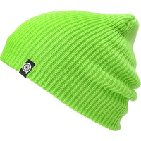 Aperture Pedro Lime Slouch Beanie at Zumiez : PDP