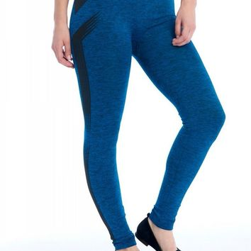 Striped Seamless Print Legging - 3 Colors!