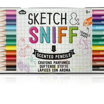 SKETCH & SNIFF COLORED PENCILS
