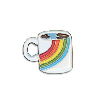Vintage Coffee Mug Pin
