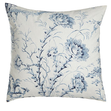"""Pagoda Toile Pillow, 20""""Sq. - Sherry Kline Home Collection"""