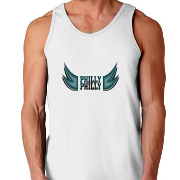 Philly Philly Funny Beer Drinking Loose Tank Top  by TooLoud