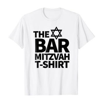 BAR MITZVAH Oy! What a Shirt - Let the Party Begin
