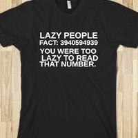 TOO LAZY - glamfoxx.com