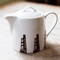 Retro To Go: Constructivists Teapot from Parasite Ceramics